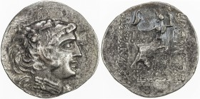 MACEDONIA: Alexander III, the Great, 336-323 BC, AR tetradrachm (15.87g), Mesembria, Price-1121, Müller-489, posthumous type struck circa 125-65 BC: h...