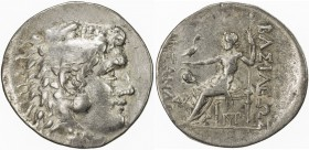 MACEDONIA: Alexander III, the Great, 336-323 BC, AR tetradrachm (16.33g), Mesembria, Price-1047, posthumous type struck circa 175-150 BC, possibly a C...