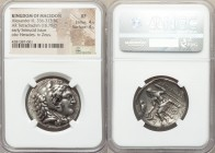 MACEDONIAN KINGDOM. Alexander III the Great (336-323 BC). AR tetradrachm (27mm, 16.78 gm, 10h). NGC XF 4/5 - 4/5. Posthumous issue of Carrhae, by Sele...