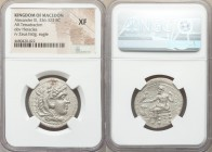MACEDONIAN KINGDOM. Alexander III the Great (336-323 BC). AR tetradrachm (28mm, 12h). NGC XF. Lifetime or early posthumous issue of Damascus, ca. 330-...