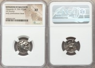 MACEDONIAN KINGDOM. Alexander III the Great (336-323 BC). AR drachm (17mm, 1h). NGC XF. Early posthumous issue of Magnesia ad Maeandrum, ca. 319-305 B...