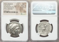 LYCIA. Phaselis. Ca. 218-185 BC. AR tetradrachm (32mm, 16.71 gm, 12h). NGC AU 4/5 - 4/5. Late posthumous issue in the name and types of Alexander III ...