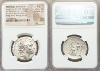 SELEUCID KINGDOM. Antiochus III the Great (222-187 BC). AR tetradrachm (28mm, 17.14 gm, 1h). NGC AU 5/5 - 4/5. Antioch on the Orontes, Series 4, ca. a...