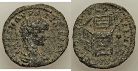 PHOENICIA. Tyre. Severus Alexander (AD 222-235). AE chalkous (21mm, 6.46 gm, 6h). VF. IMP CAES M AVR S-EV ALEXANDER, laureate, draped and cuirassed bu...