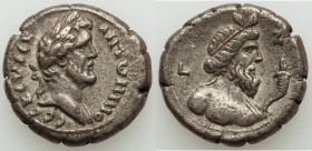 EGYPT. Alexandria. Antoninus Pius (AD 138-161). BI tetradrachm (24mm, 12.93 gm, 12h). VF. Dated Regnal Year 17 (AD 153/4). ANTωNINO-C CEB EVECE, laure...