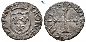 Charles VIII of France AD 1495. Aquila. Cavallo CU