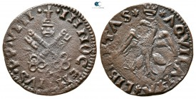 Pope Innocent VIII AD 1484-1492. Aquila. Cavallo CU