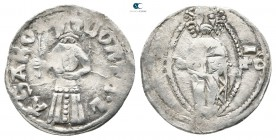 Stefan Lazar AD 1371-1389. Uncertain mint. Dinar AR