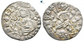 Ivan Sracimir AD 1356-1397. Uncertain mint. Grosh AR