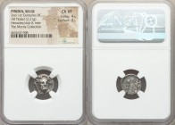 PISIDIA. Selge. 2nd-1st century BC. AR triobol (15mm, 2.21 gm, 12h). NGC Choice VF 4/5 - 3/5. Head of Herakles facing slightly right, wearing styrax w...
