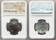 SELEUCID KINGDOM. Antiochus III the Great (222-187 BC). AR tetradrachm (29mm, 16.84 gm, 12h). NGC AU 5/5 - 3/5. Tarsus. Diademed head of Antiochus III...