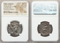 SYRIA. Laodicea ad Mare. Ca. 81/0-17/6 BC. AR tetradrachm (26mm, 14.66 gm, 12h). NGC AU 5/5 - 3/5. Dated Civic Year 30 (52/1 BC). Veiled, diademed and...