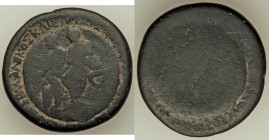 LYDIA. Sardis. Germanicus and Drusus (Died AD 19 and AD 23, respectively). AE (28mm, 13.49 gm). Good. Restruck by Asinios Pollio, proconsul. ΔΡΟΥΣΟΣ Κ...