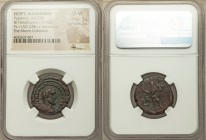 EGYPT. Alexandria. Pupienus (AD 238). BI tetradrachm (23mm, 13.40 gm, 11h). NGC Choice VF 5/5 - 2/5. Dated Regnal Year 1 (AD 238). A K M KΛω ΠOVΠIHNOC...