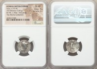 L. Cornelius Sulla as Imperator and L. Manlius Torquatus as Proquaestor (82 BC). AR denarius (17mm, 3.81 gm, 3h). NGC Choice VF 4/5 - 2/5. Military mi...