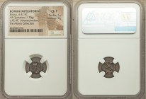 Q. Servilius Caepio (M. Junius) Brutus (died 42 BC). AR quinarius (12mm, 1.70 gm, 12h). NGC Choice Fine 5/5 - 3/5. Military mint travelling with Brutu...