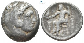"Kings of Macedon. Amphipolis. Alexander III ""the Great"" 336-323 BC. Struck under Antipater, circa 325-323/2 BC. Tetradrachm AR"