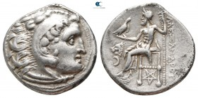 Kings of Thrace. Kolophon. Macedonian. Lysimachos 305-281 BC. In the name and types of Alexander III of Macedon. Struck circa 301/0-300/299 BC. Drachm...