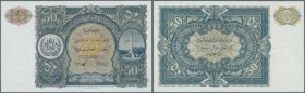 Afghanistan: 50 Afghanis ND(1936) P. 19 in condition: UNC.