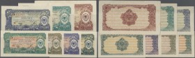 "Albania: set of 7 different notes ""Foreign Exchange Certificate"" containing 0,05, 0,1, 1/2, 1, 5, 10 and 50 Lek 1965 P. FX21-FX27, the first note is U..."