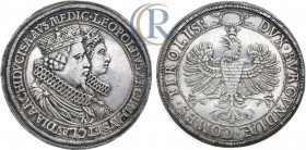 Austria, Holy Roman Empire. Leopold V. Archduke, 1619-1632. AR Double Taler (silver, 57.44 g.). Hall mint. Undated issue (1626).  Священная Римская Им...
