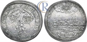 Holy Roman Empire. German States. Nurnberg. Free Imperial City Taler 1696. Silver, 29, 13 g.  Священная Римская империя. Имперский город Нюрнберг. Тал...
