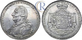 Germany. Taler, 1797. Silver, 28,05 g.  Германия. Княжество Гогенлоэ-Оринген. Князь Фридрих Людвиг Карл. Талер 1797 года. Серебро, 28,05г. DAV. 2354. ...