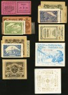 Austria Notgeld Group Lot of 141 Examples Extremely Fine-Uncirculated.   HID09801242017