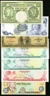 Bahamas, Jamaica, Cayman Islands and Cuba Group Lot of 7 Examples Fine-Very Fine.   HID09801242017