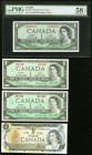 Canada Bank of Canada Group Lot of 8 Examples Very Fine-Uncirculated. The BC-29b is graded PMG Choice About Unc 58 EPQ;   HID09801242017