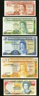Gibraltar and Bermuda Group Lot of 5 Examples Very Fine.   HID09801242017