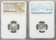 MACEDONIAN KINGDOM. Alexander III the Great (336-323 BC). AR drachm (18mm, 4.23 gm, 1h). NGC AU 5/5 - 3/5. Early posthumous issue of Magnesia ad Maean...