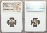 MACEDONIAN KINGDOM. Alexander III the Great (336-323 BC). AR drachm (17mm, 9h). NGC AU. Posthumous issue of Lampsacus, ca. 310-301 BC. Head of Heracle...