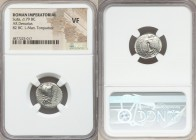 L. Cornelius Sulla as Imperator and L. Manlius Torquatus as Proquaestor (ca. 82 BC). AR denarius (16mm, 9h). NGC VF. Military mint in Italy, moving wi...