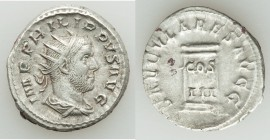 Philip I (AD 244-249), AR antoninianus (22mm, 4.98 gm, 1h). VF. Rome, Millennial Issue, AD 248. IMP PHILIPPVS AVG, radiate, draped and cuirassed bust ...