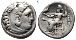 Kings of Macedon. Kolophon. Philip III Arrhidaeus 323-317 BC. Struck in the name and types of Alexander III. Drachm AR
