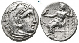 Kings of Macedon. Kolophon. Philip III Arrhidaeus 323-317 BC. In the name and types of Alexander III. Drachm AR
