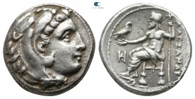 Kings of Macedon. Miletos. Philip III Arrhidaeus 323-317 BC. In the name of Alexander III. Drachm AR