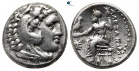 Kings of Macedon. Sardeis. Philip III Arrhidaeus 323-317 BC. In the name and types of Alexander III. Drachm AR