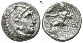 "Kings of Macedon. Kolophon or Magnesia ad Maeandrum. Alexander III ""the Great"" 336-323 BC. Drachm AR"