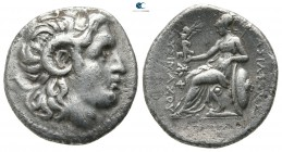 Kings of Thrace. Ephesos. Macedonian. Lysimachos 305-281 BC. Drachm AR