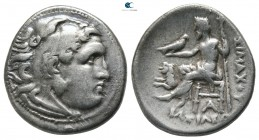 Kings of Thrace. Magnesia. Macedonian. Lysimachos 305-281 BC. In the types of Alexander III of Macedon. Drachm AR