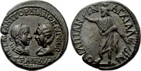 THRACE. Anchialus. Gordian III with Tranquillina (238-244). Ae.