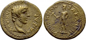 LYDIA. Hypaepa. Germanicus (Died 19). Ae.