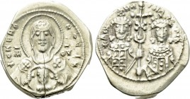 MICHAEL VII DUCAS with MARIA (1071-1078). Pale GOLD Tetarteron Nomisma. Constantinople.