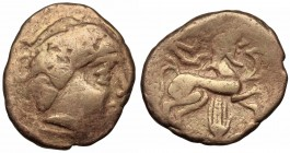 GAUL, Central. Pictones. Circa 100-50 BC. Electrum Stater
