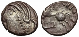 GAUL, Central. Sequani. Togirix. c. 100-50 BC. AR Unit.