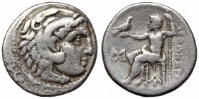 KINGS of MACEDON. Antigonos I Monophthalmos. AR Drachm.
