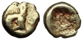 MYSIA, Kyzikos. Circa 600-550 BC. EL Forty-eighth Stater.