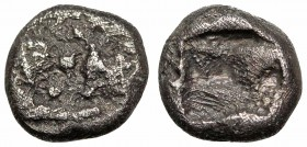 KINGS of LYDIA. Kroisos. Circa 564/53-550/39 BC. AR Twelfth Stater. Sardes mint.